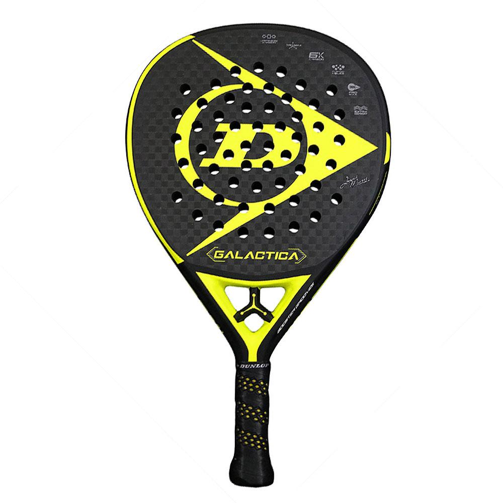 Dunlop Galactica Padel - Black/Yellow