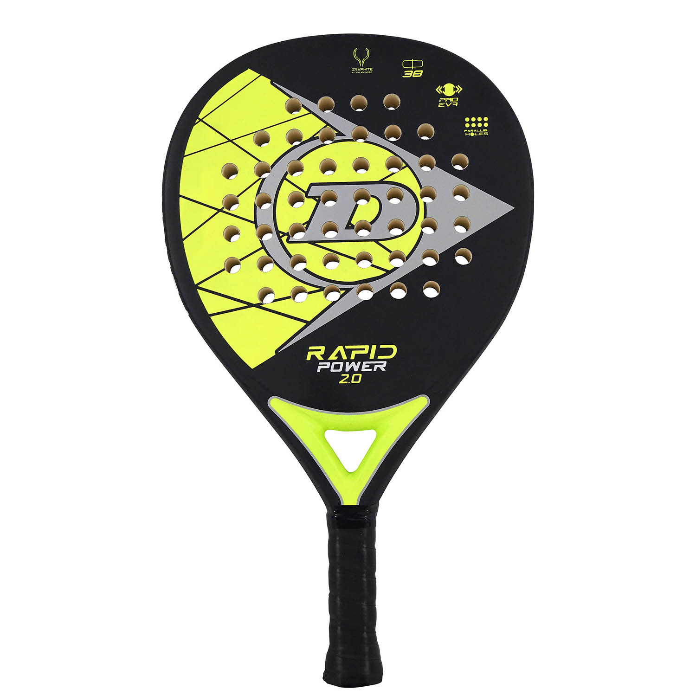 Dunlop Rapid Power 2.0 Padel - Black/Yellow
