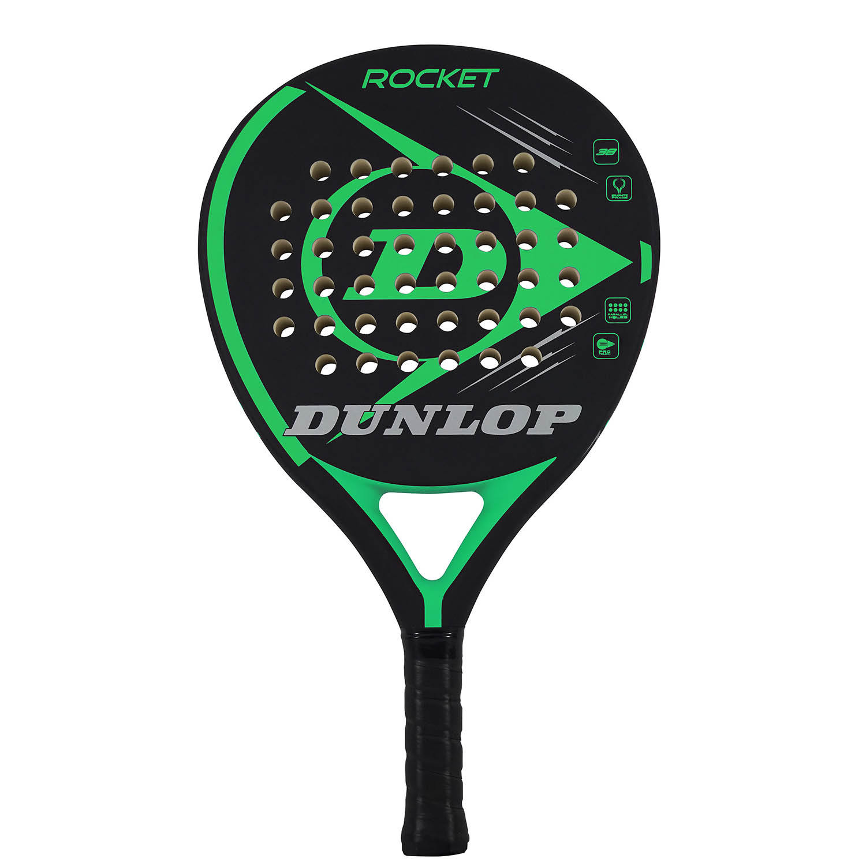 Dunlop Rocket Green Padel - Black/Green