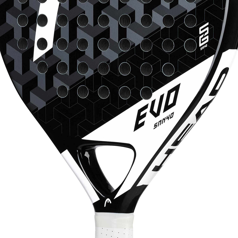 Head Evo Sanyo Padel - Black/White