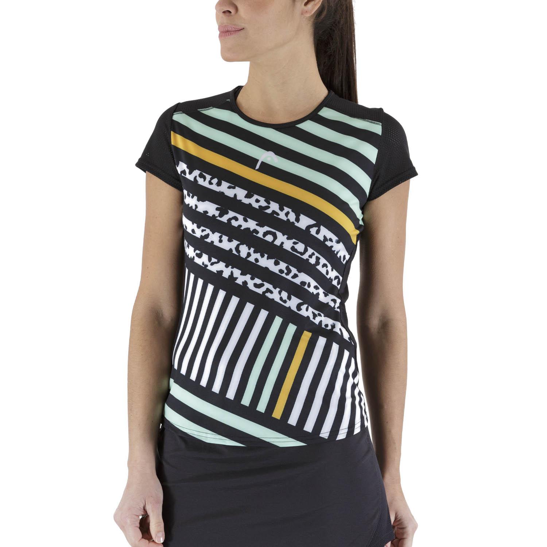 Head Sammy T-Shirt - Black/Print Vision