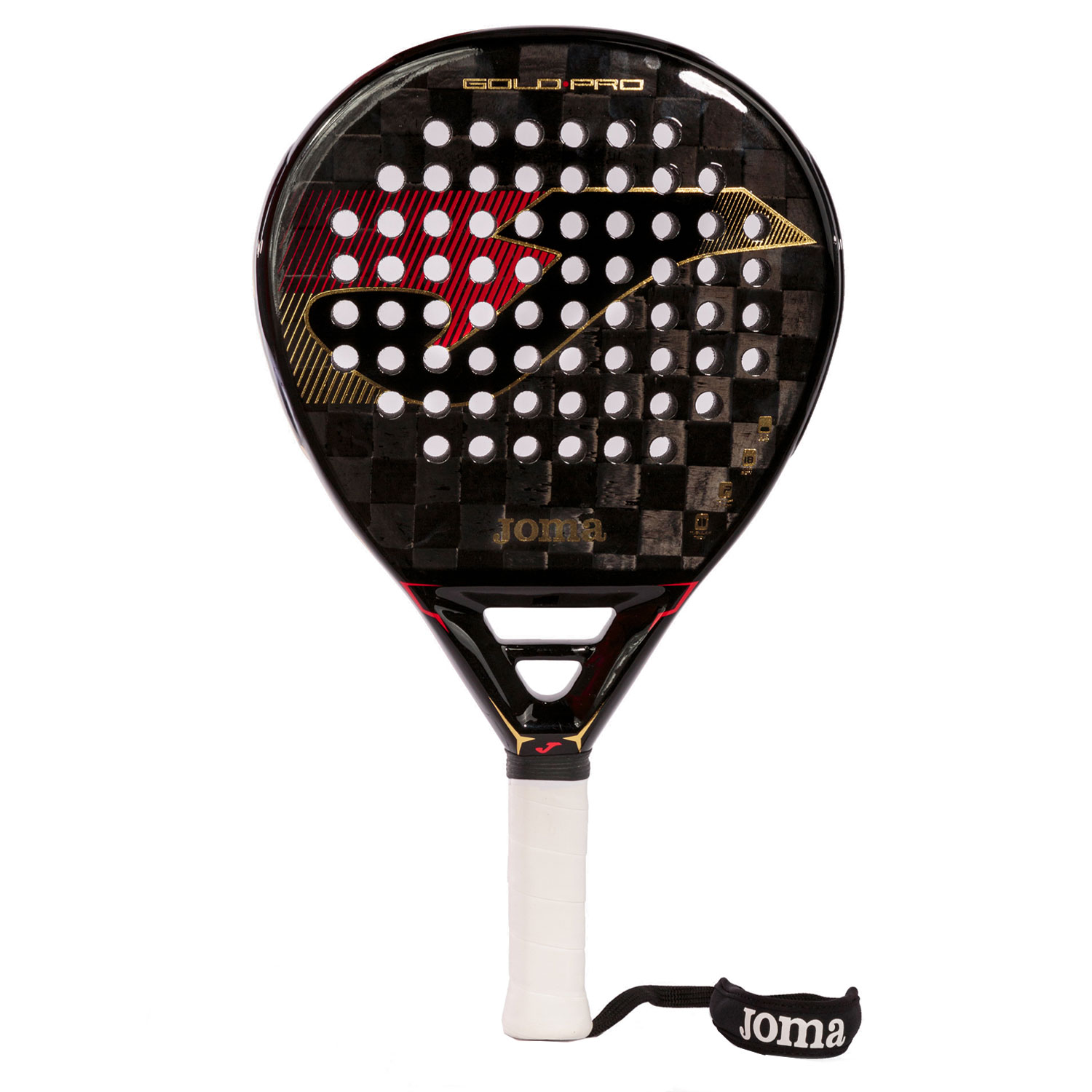 Joma Gold Pro Power Padel - Black/Red/Gold