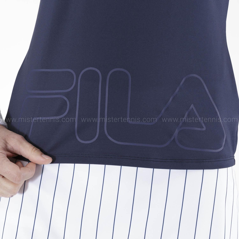 Fila Feliz T-Shirt - Peacoat/Blue