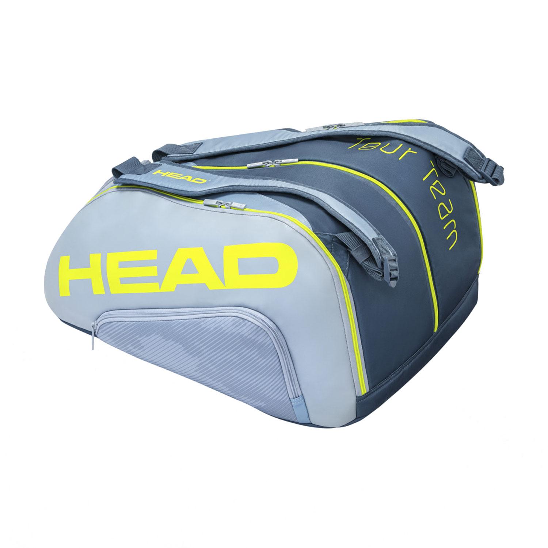 Head Tour Team Monstercombi Bag - Grey/Neon Yellow
