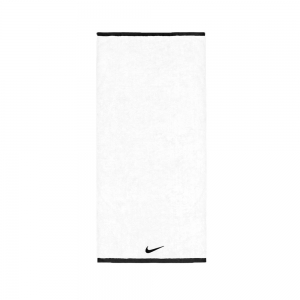 Towel Nike Medium Fundamental Towel  White/Black N.ET.17.101.MD