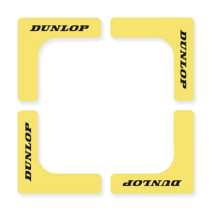 Court Accessories Dunlop Court Edges  Yellow 622222
