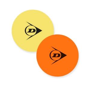 Court Accessories Dunlop Court Target  Yellow/Orange 622221