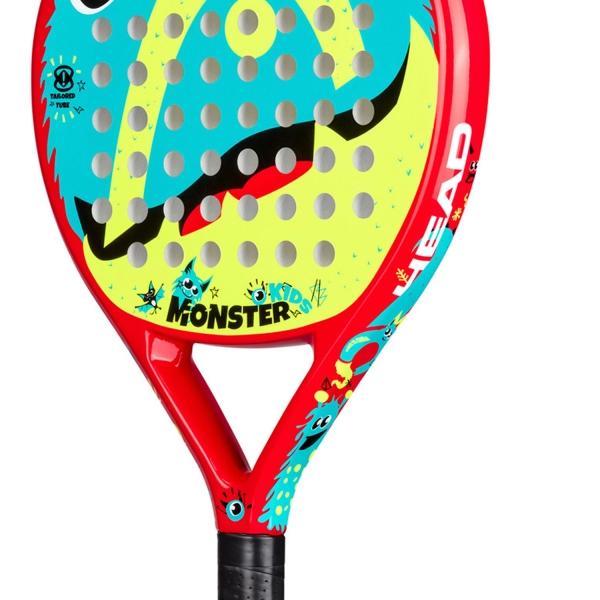 Head Monster Kids Padel - Red/Blue/Yellow