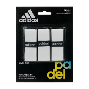 Padel Overgrip Adidas Tacky Feeling x 3 Overgrip  White OG01WH