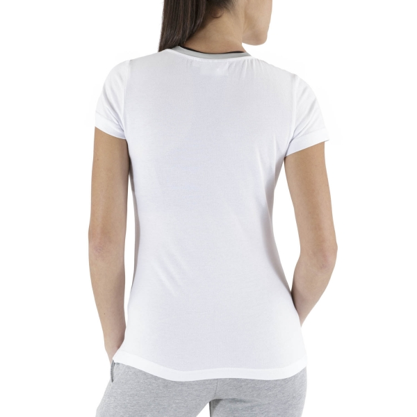 Australian Piquet T-Shirt - Satin/White