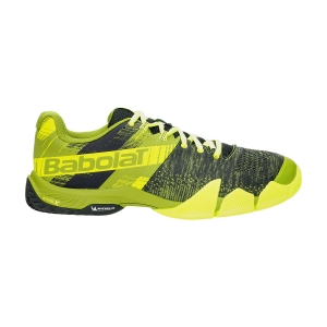 Men's Padel Shoes Babolat Movea  Spinach Green/Fluo Yellow 30S215718005