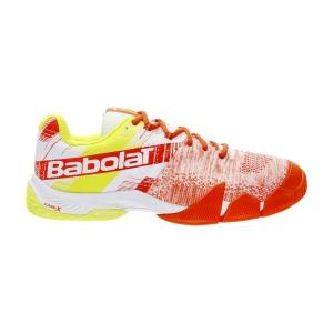 Men's Padel Shoes Babolat Movea  White/Nasturtium 30S215711057