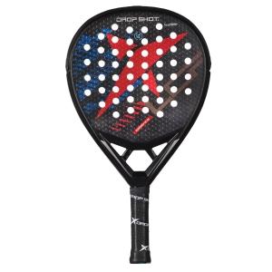 Padel Rackets Drop Shot Essence Padel  Black/Red/Blue DP244013