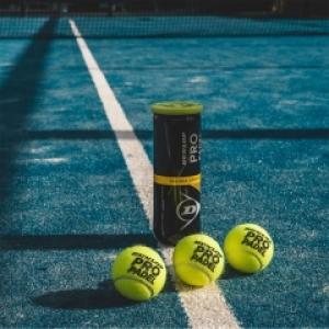 Dunlop Pro Padel 3 balls tube