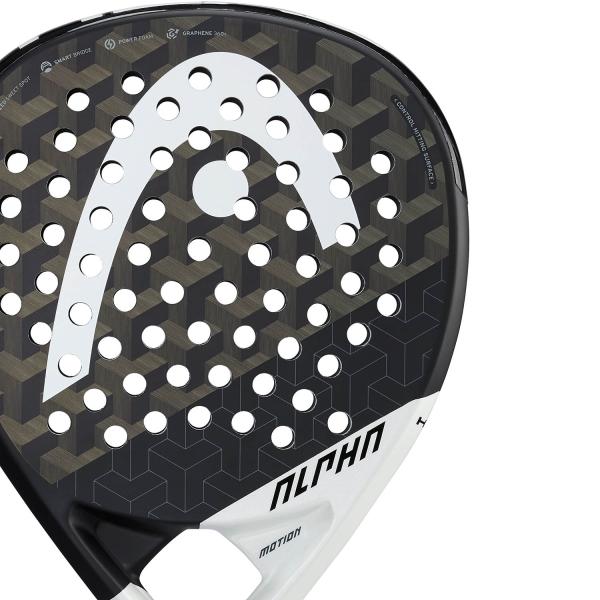 Head Graphene 360+ Alpha Motion Padel - Black/White