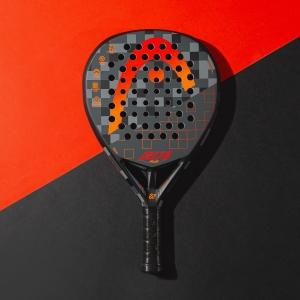 Head Graphene 360+ Delta Plus Padel - Black/Red/Orange