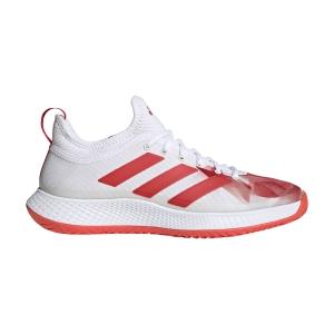 Men's Padel Shoes Adidas Defiant Generation  Ftwr White/Red H69201