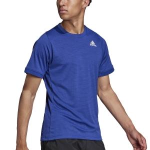 Men's T-Shirt Padel adidas Freelift Aeroready TShirt  Victory Blue/White H50277