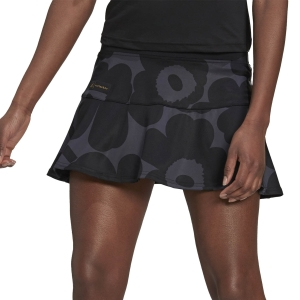 Women's Padel Skirts and Shorts adidas Marimekko Skirt  Carbon/Black/Gold Met GT6001