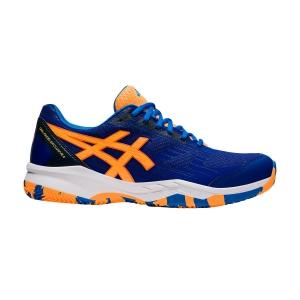 Men's Padel Shoes Asics Gel Padel Exclusive 6  Monaco Blue/Orange Pop 1041A200408