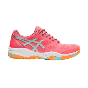 Women's Padel Shoes Asics Gel Padel Exclusive 6  Blazing Coral/Fresh Ice 1042A143709
