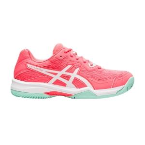 Women's Padel Shoes Asics Gel Padel Pro 4  Blazing Coral/White 1042A111703