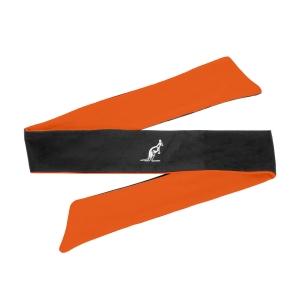 Padel Headband Australian Ace Print Headband  Nero/Orange TEXFA0005003A