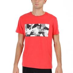 Australian Graphic Camiseta - Rosso Vivo