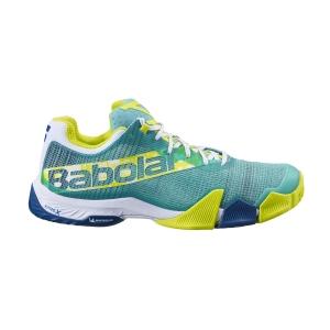 Men's Padel Shoes Babolat Jet Premura  Green/Sulphur Spring 30S217528004