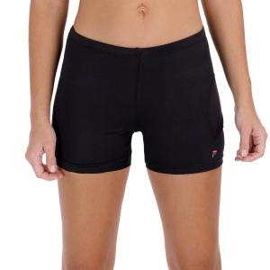 Women's Padel Skirts and Shorts Fila Bella 4in Shorts  Black FBL172003900