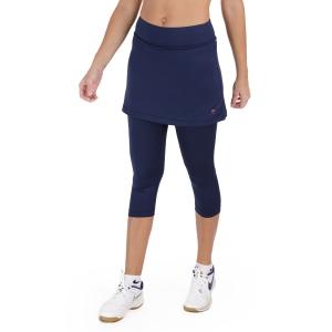 Women's Padel Skirts and Shorts Fila Sina Skirt  Peacoat Blue FBL131027100