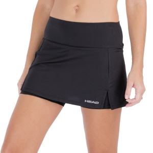 Women's Padel Skirts and Shorts Head Club Basic Skirt  Black 814399BK