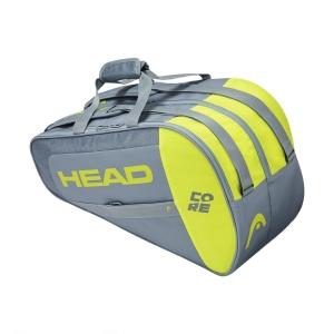 Padel Bag Head Core Combi Bag  Grey/Neon Yellow 283601 GRNY