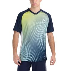 Head Game Tech Camiseta - Dark Blue Print