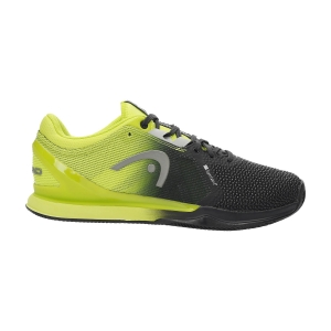 Men's Padel Shoes Head Sprint Pro 3.0 SF Clay  Black/Lime 273091 BKLI