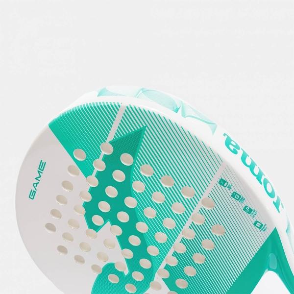 Joma Game Padel - White/Turquoise
