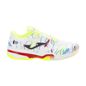 Junior's Padel Shoes Joma Slam WPT Boys  White JWPTS2132P