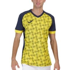 Joma Supernova III Camiseta - Navy/Yellow