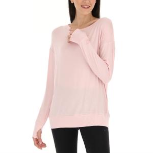 Women's Padel Shirts & Hoodies Lotto Dinamico Shirt  Barely Pink 2168043GG