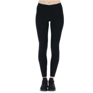 Women's Padel Pants and Tights Lotto Dinamico Tights  All Black 2168081CL