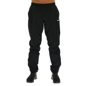Men's Padel Pant and Tight Lotto Milano II Pants  All Black 2158481CL