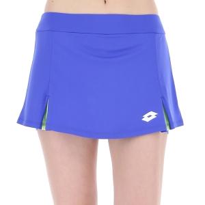 Women's Padel Skirts and Shorts Lotto Top Ten III Skirt  Amparo Blue 2154268D8