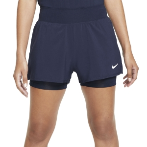 Women's Padel Skirts and Shorts Nike Court Flex Victory 2in Shorts  Obsidian/White CV4817452