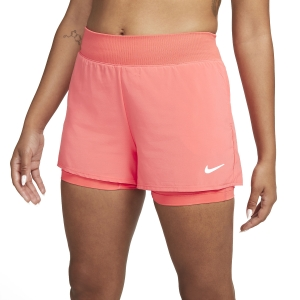 Women's Padel Skirts and Shorts Nike Court Flex Victory 2in Shorts  Magic Ember/White CV4817814