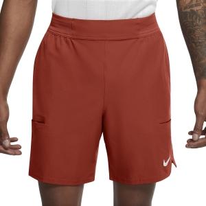 Men's Padel Shorts Nike Flex Advantage 7in Shorts  Cinnabar/White CV5046671