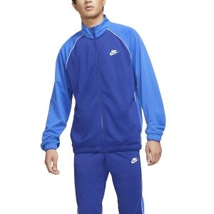 Men's Padel Suit Nike Sportswear Essential Suit  Deep Royal Blue/Game Royal/White CZ9988455