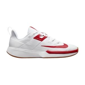 Women's Padel Shoes Nike Vapor Lite Clay  White/University Red/Wheat DH2945188