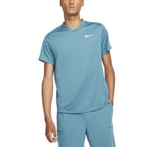 Men's T-Shirt Padel Nike Victory TShirt  Riftblue/White CV2982415