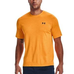 Men's T-Shirt Padel Under Armour Training Vent 2.0 TShirt  Omega Orange/Black 13614260857